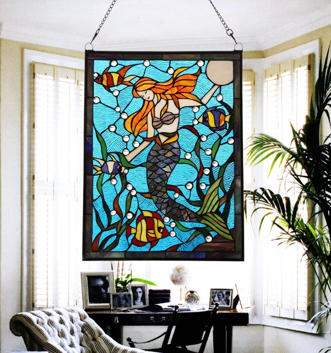 Stained Glass Wall Art – Culturehoop Intended For Most Popular Stained Glass Wall Art (View 8 of 20)