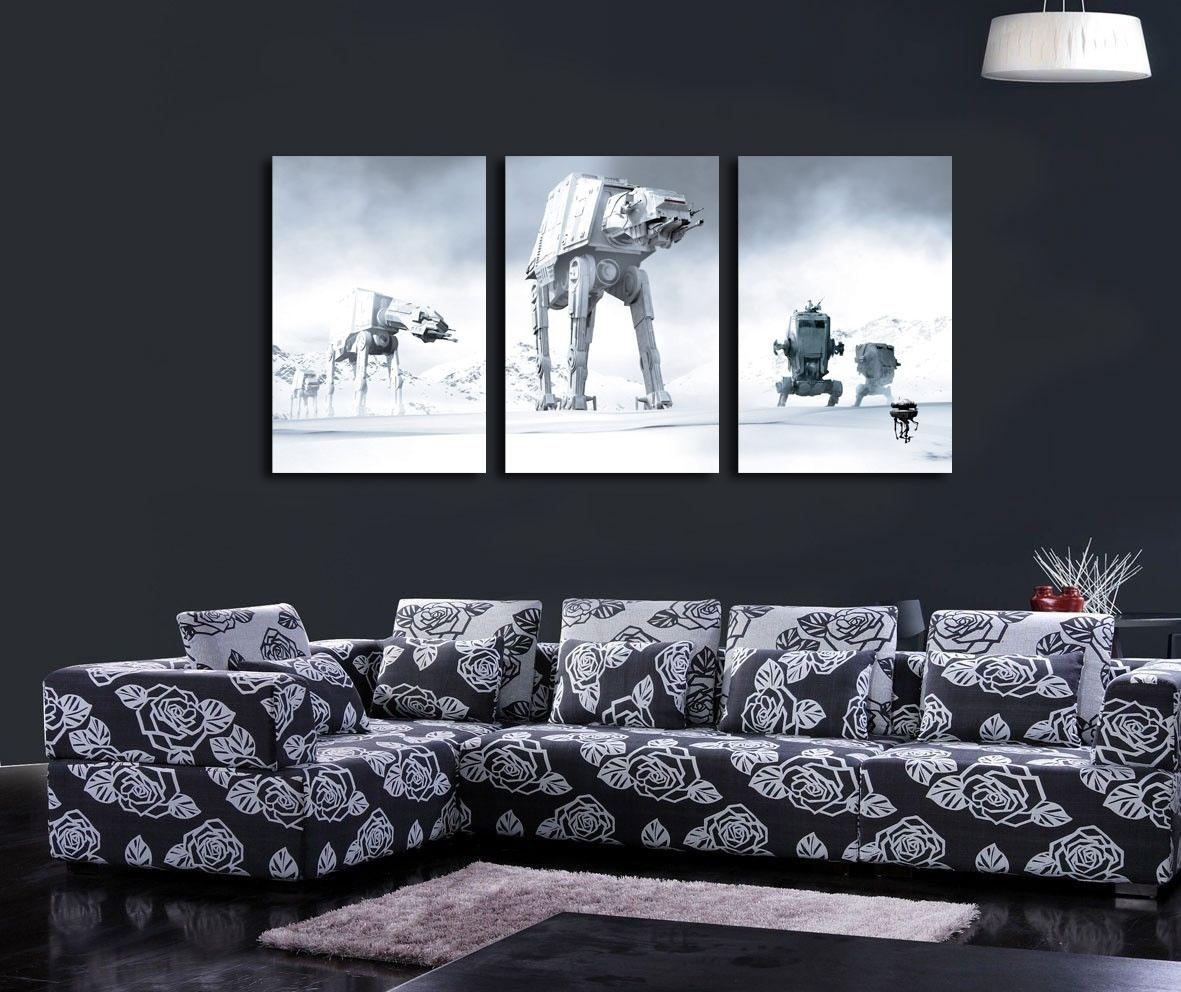 Star Wars Canvas Wall Art – Arsmart Throughout 2017 Star Wars Wall Art (View 10 of 15)