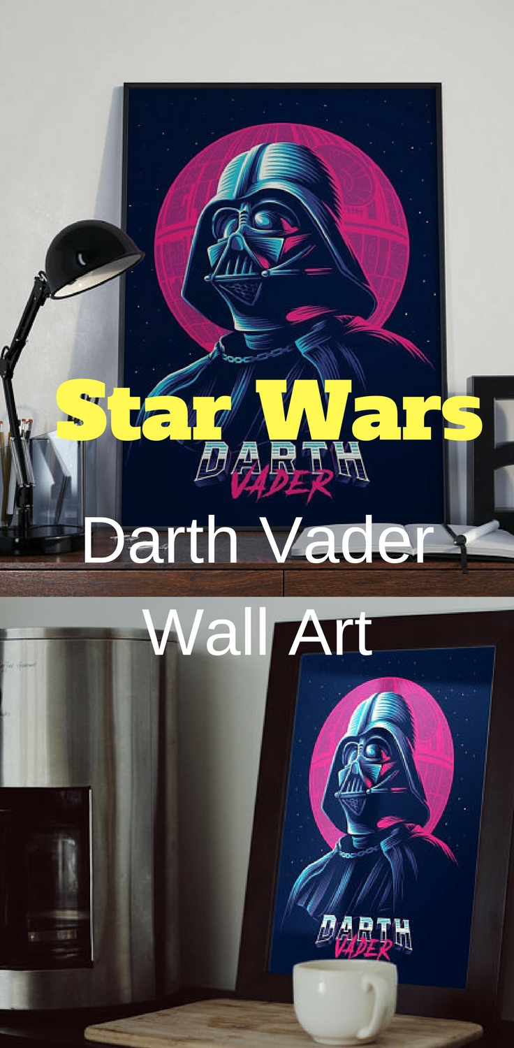 Star Wars Darth Vader Wall Art – Star Wars Wall Art #starwars Regarding Current Darth Vader Wall Art (View 16 of 20)