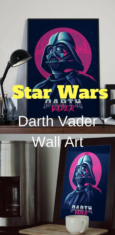 Star Wars Darth Vader Wall Art – Star Wars Wall Art #starwars Regarding Current Darth Vader Wall Art (View 13 of 20)
