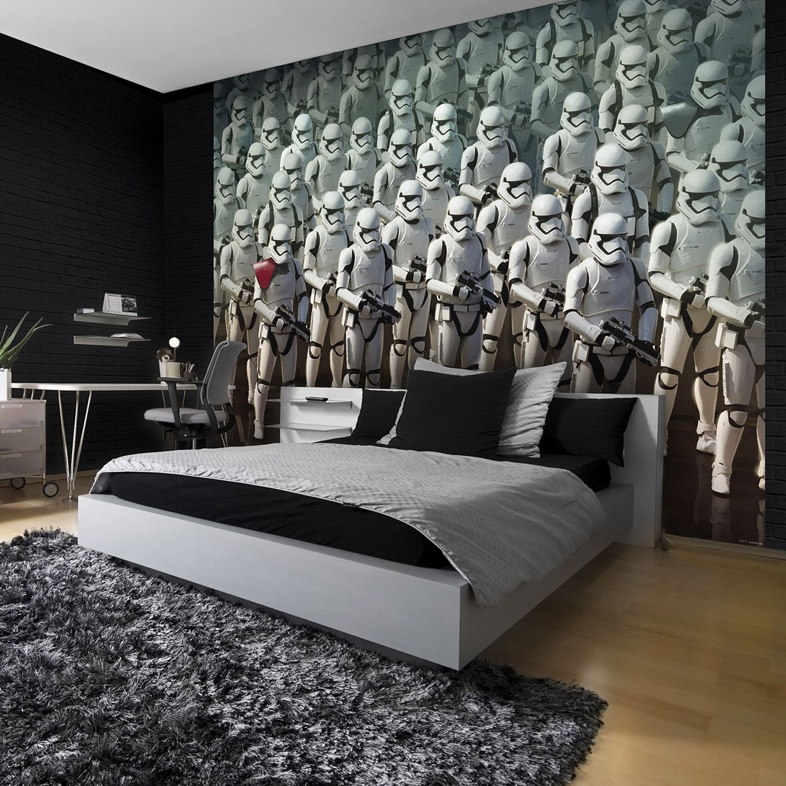 Star Wars Wall Art Bedroom : Andrews Living Arts – Fantastic Room Intended For Most Current Star Wars Wall Art (View 10 of 15)