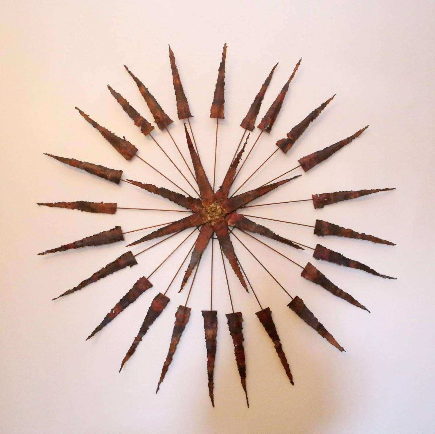 Starburst Wall Art Awesome Starburst Metal Wall Sculpture For Sale Intended For Most Recently Released Starburst Wall Art (View 16 of 20)