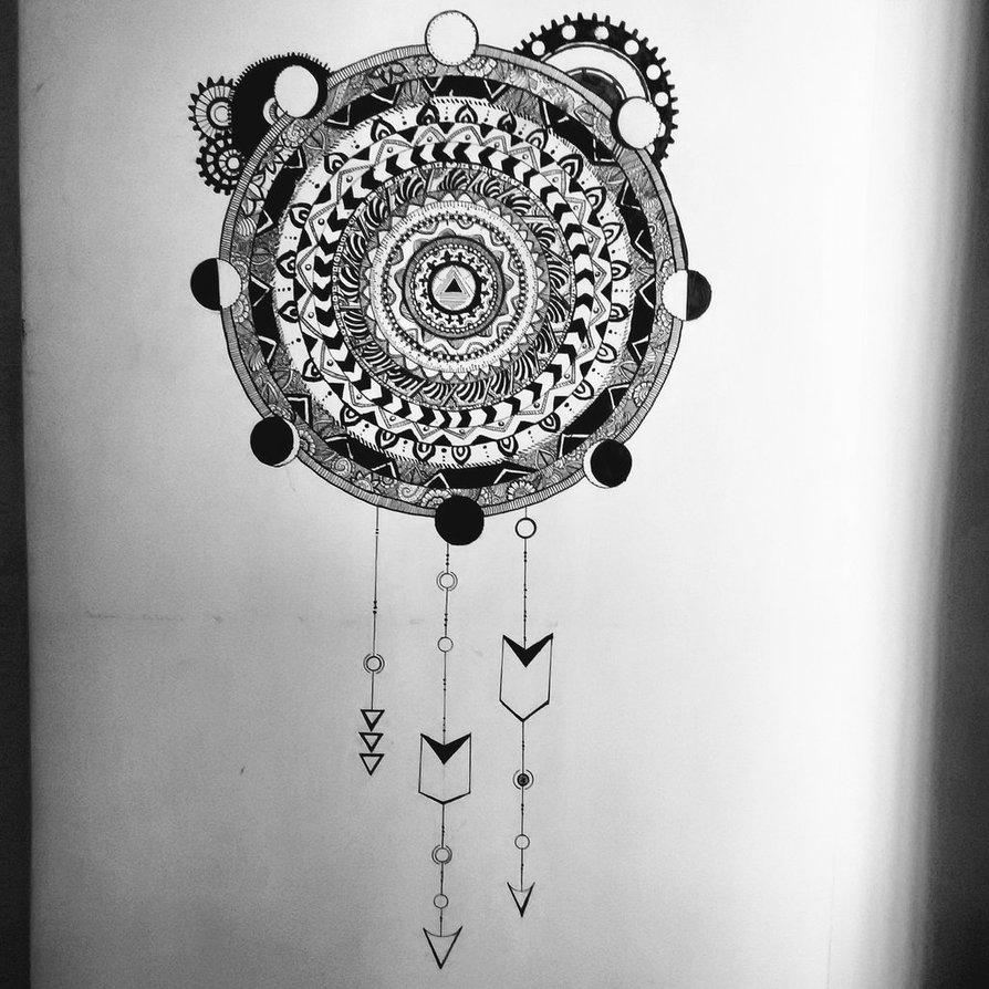 Steampunk Mandala Wall Artusachan26 On Deviantart Pertaining To Recent Mandala Wall Art (Gallery 19 of 20)