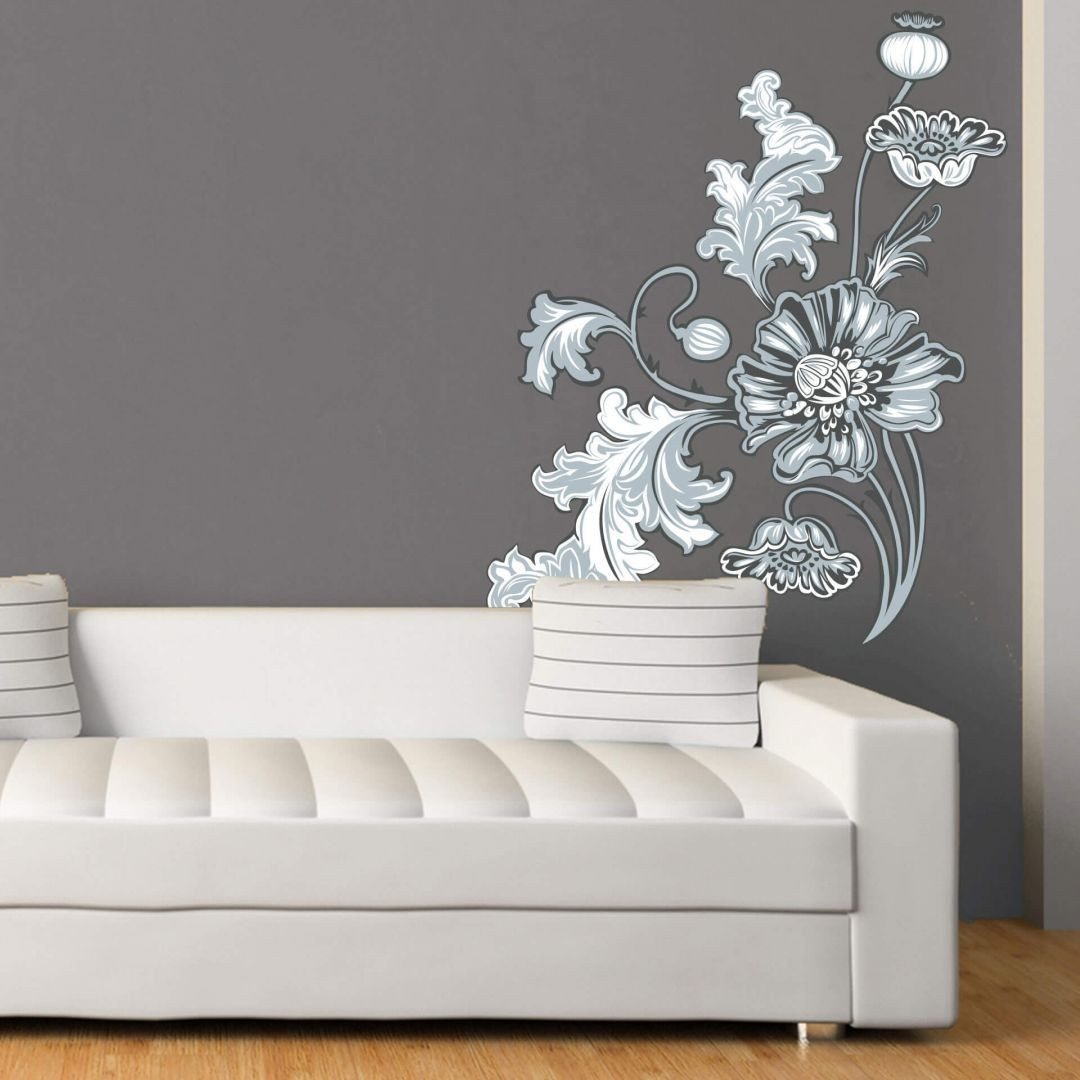 Stencil Wall Art Gallery – Home Design Wall Stickers In Current Stencil Wall Art (Gallery 5 of 20)