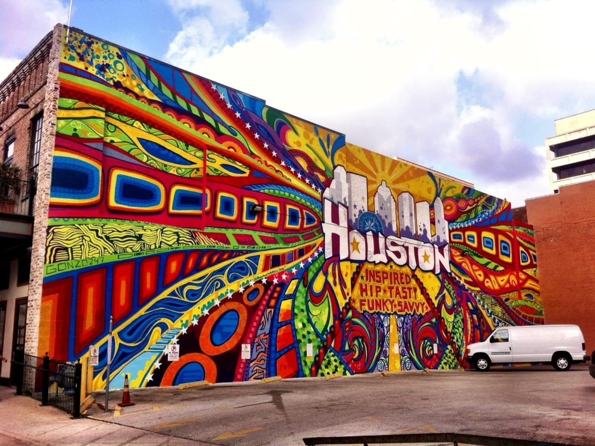 Street Art: 15 Houston Murals That Make The Perfect Instagram For Recent Houston Wall Art (Gallery 5 of 20)