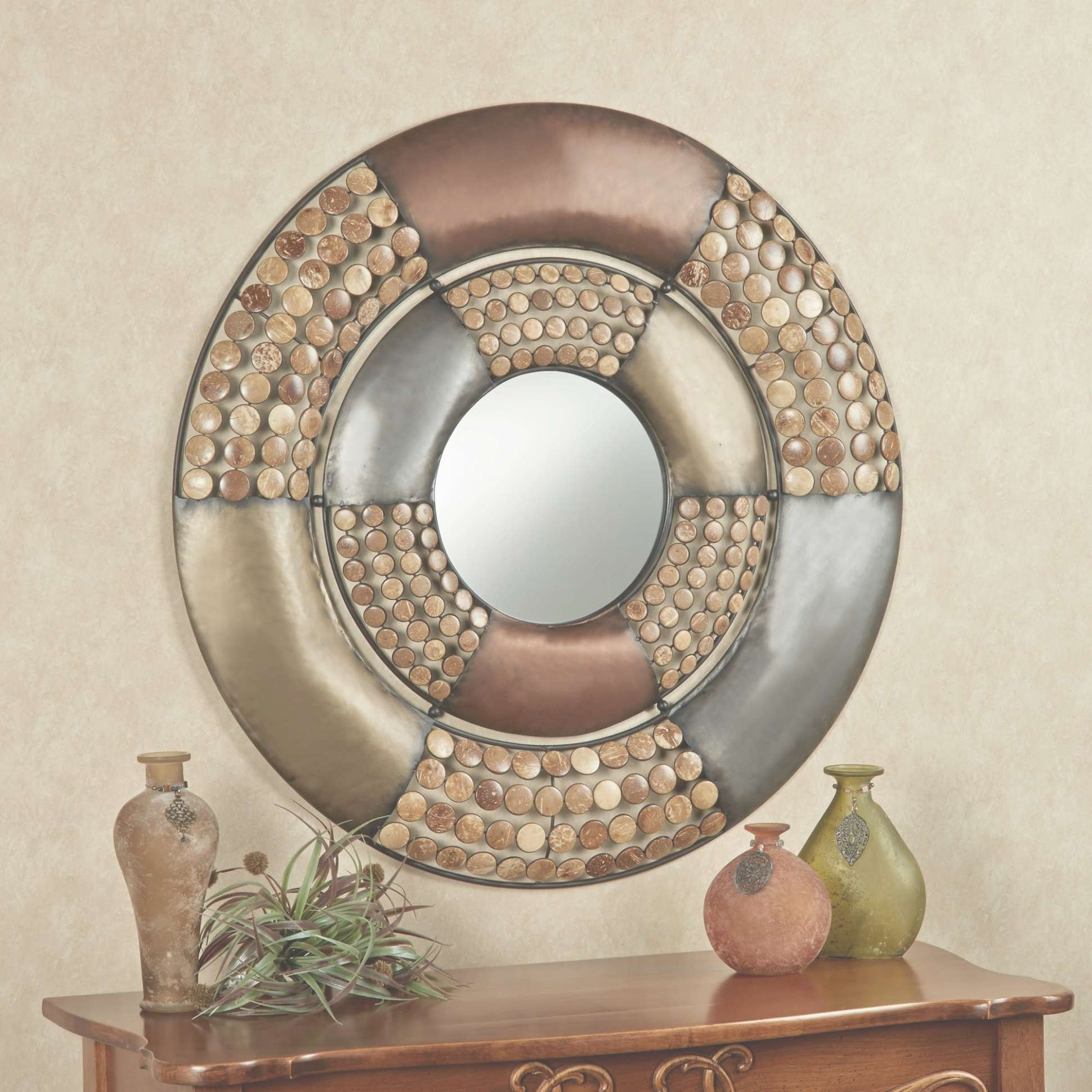 Stunning Large Round Wall Decor Inspiration | Home Design Decor Within Current Round Wall Art (View 13 of 20)