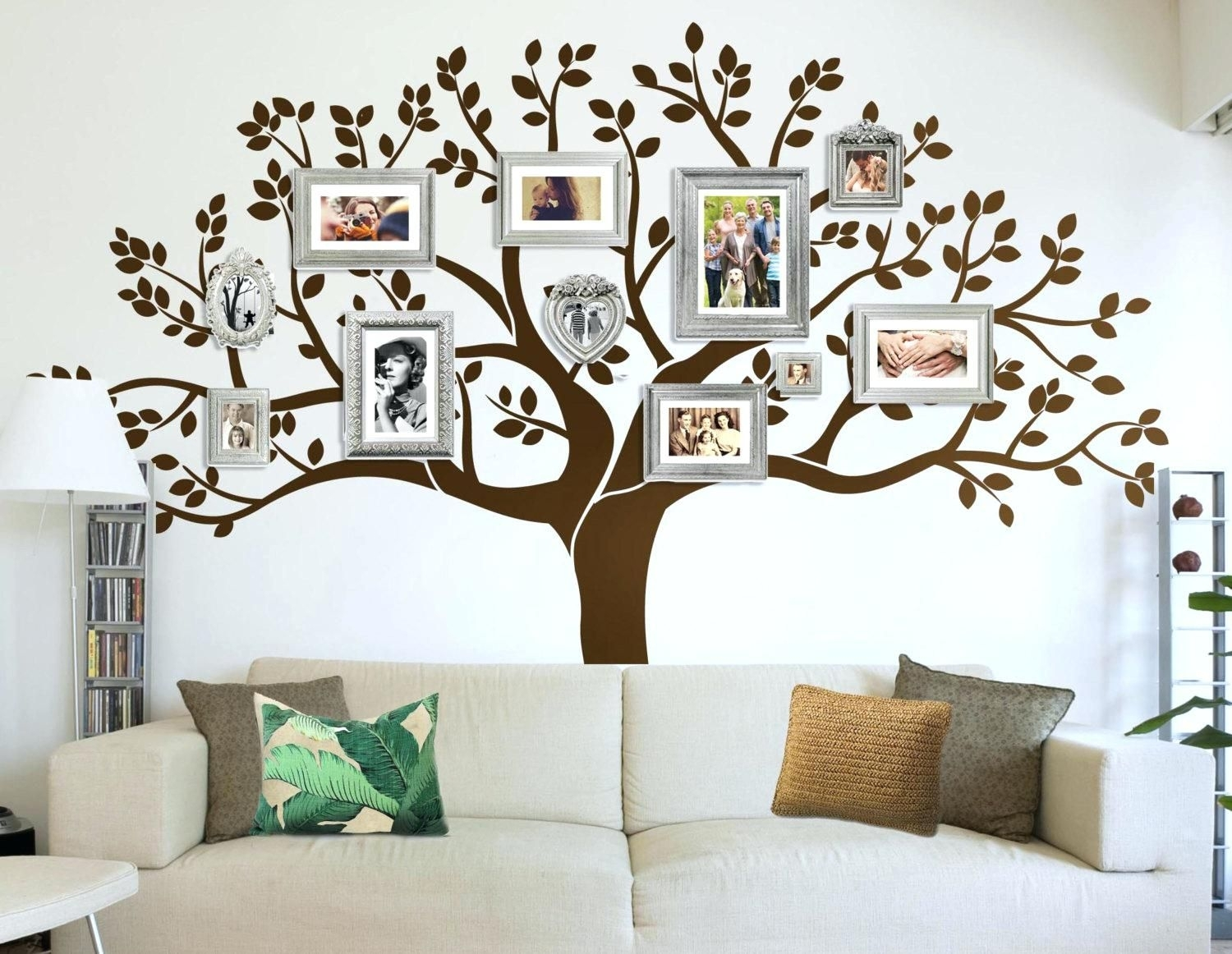 Stunning Large Wood Tree Wall Decor Art On Designs Decoration Diy With Most Current Wall Tree Art (View 15 of 20)