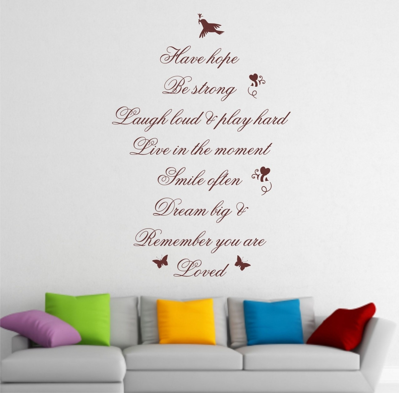 Stunning Wall Art Sayings Quotes 92 In With Wall Art Sayings Quotes With Regard To Latest Wall Art Sayings (View 14 of 20)