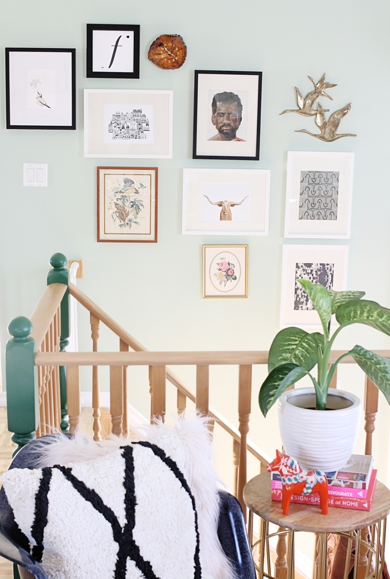 Styling A Gallery Wall | Hello Lidy Inside Current Artfully Walls (View 12 of 15)