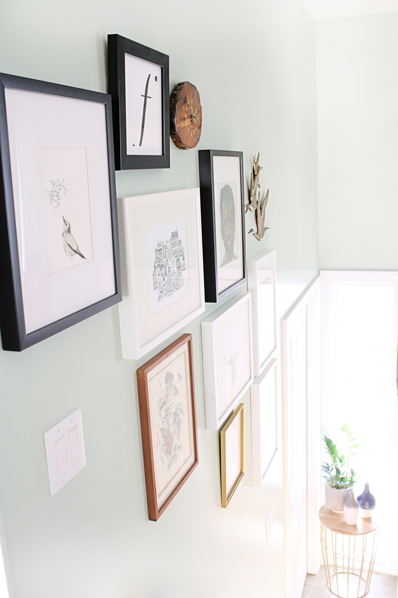 Styling A Gallery Wall | Hello Lidy Within Latest Artfully Walls (View 15 of 15)