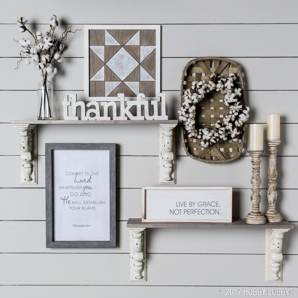 Stylish Wall Decor Trends To Diy Or Try Design Hobby Lobby Wood Within Newest Hobby Lobby Wall Art (View 15 of 20)