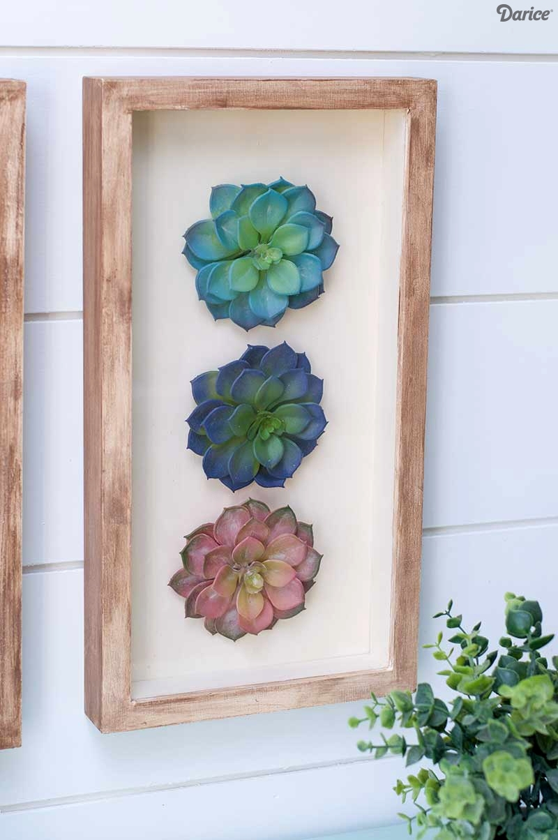 Succulent Wall Art With Latest Succulent Wall Art (View 9 of 20)