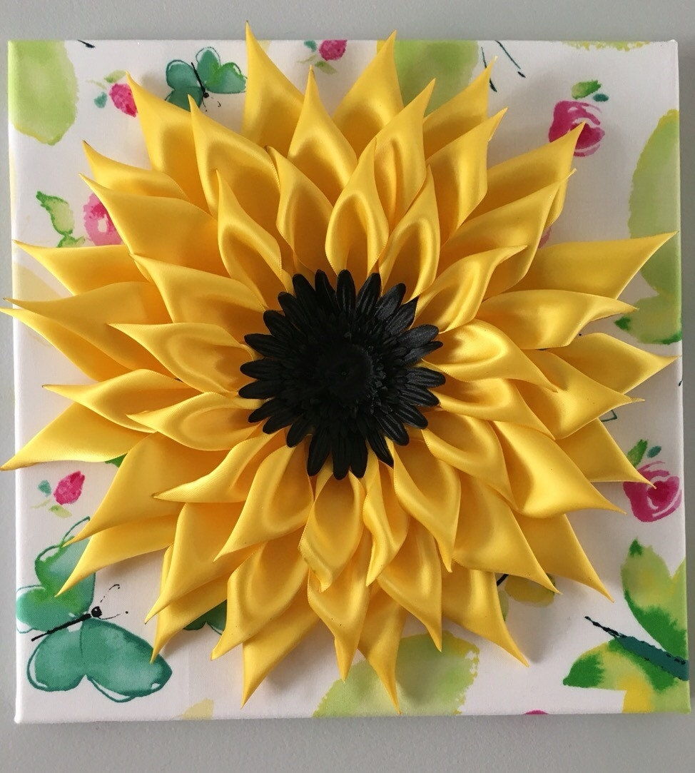Sunflower Wall Art Popular Sunflower Wall Art – Wall Decoration Ideas Intended For Best And Newest Sunflower Wall Art (View 15 of 20)