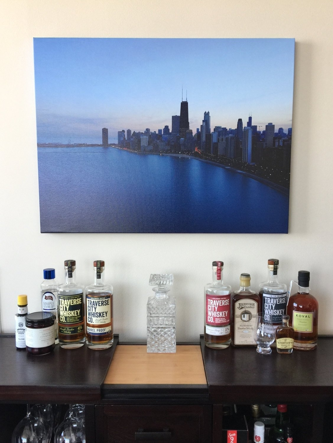 Sunsets In Chicago – Office And Wall Art, Urban Art, Chicago Art With Regard To Most Current Chicago Wall Art (View 14 of 15)