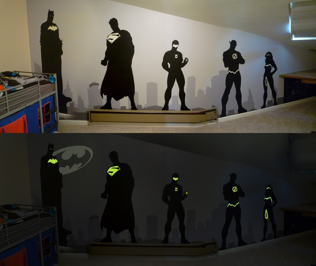Superhero Wallbreaktheday On Deviantart In Most Recently Released Superhero Wall Art (View 17 of 20)