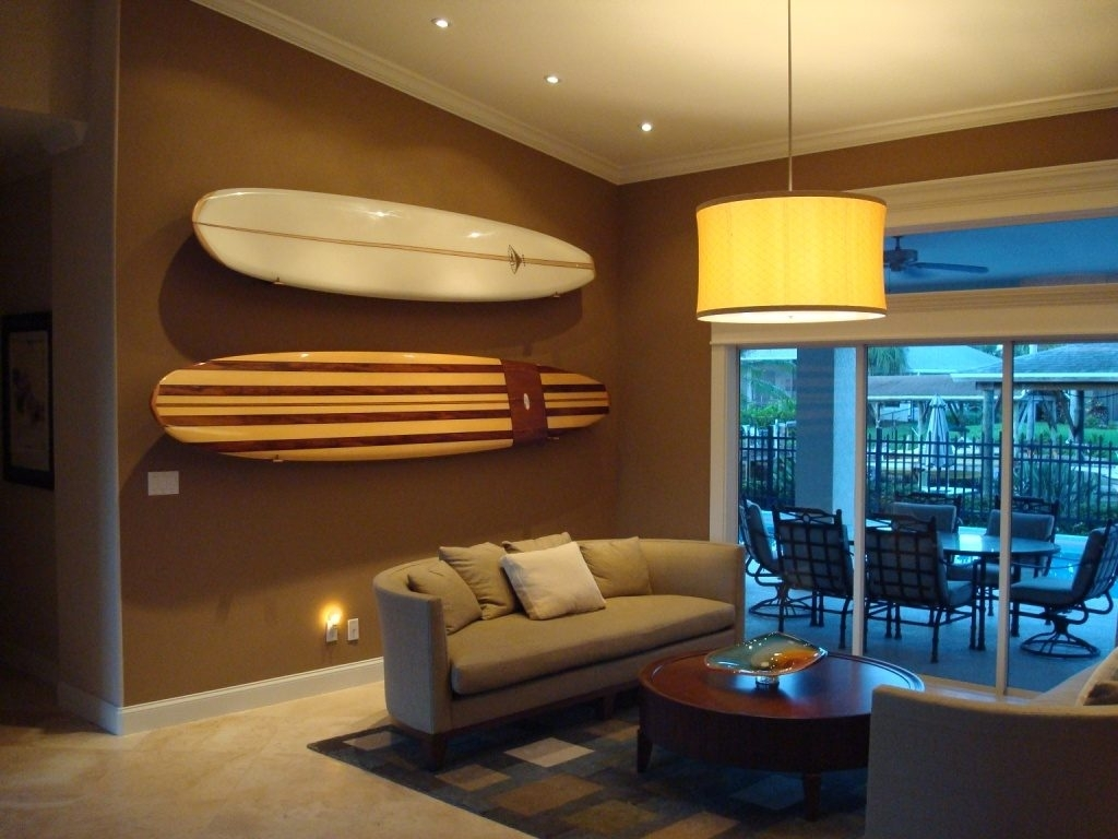 Surfboard Wall Art – Culturehoop Intended For Current Surfboard Wall Art (View 15 of 20)