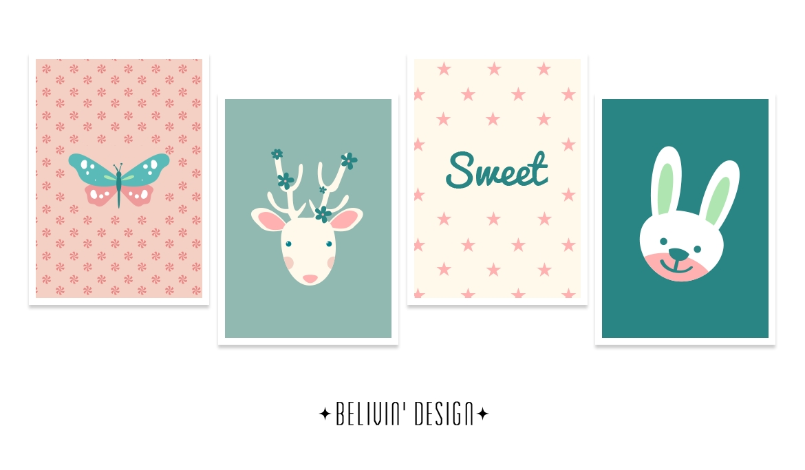 Sweet Baby Wall Decor – Free Printable – Belivindesign Throughout Most Up To Date Free Printable Wall Art (View 7 of 20)