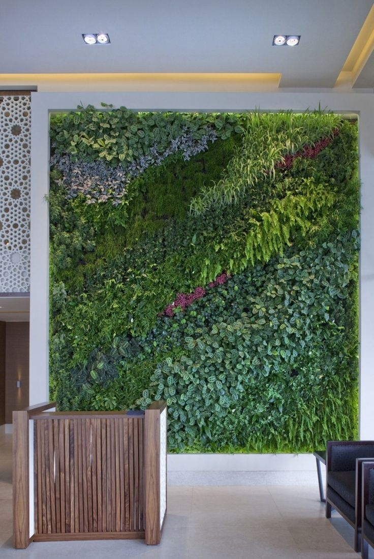 The 118 Best Ecolife | Green House Images On Pinterest | Modern With Regard To Recent Living Wall Art (View 16 of 20)