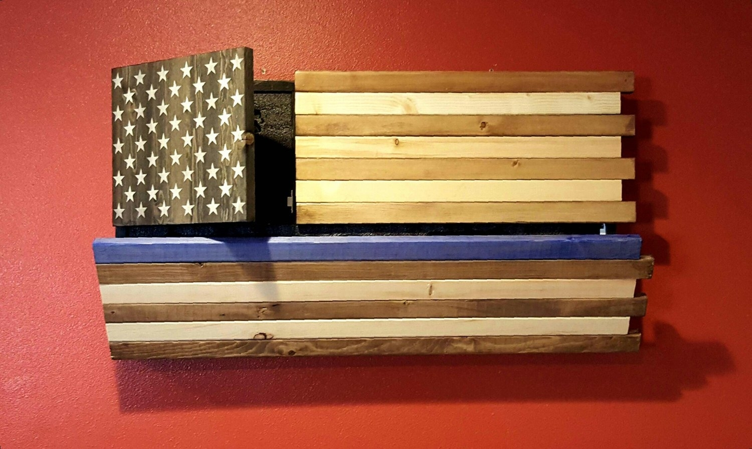 The Best Diy Wooden American Marine Flag Pics For Wood Wall Decor In Recent Rustic American Flag Wall Art (View 17 of 20)