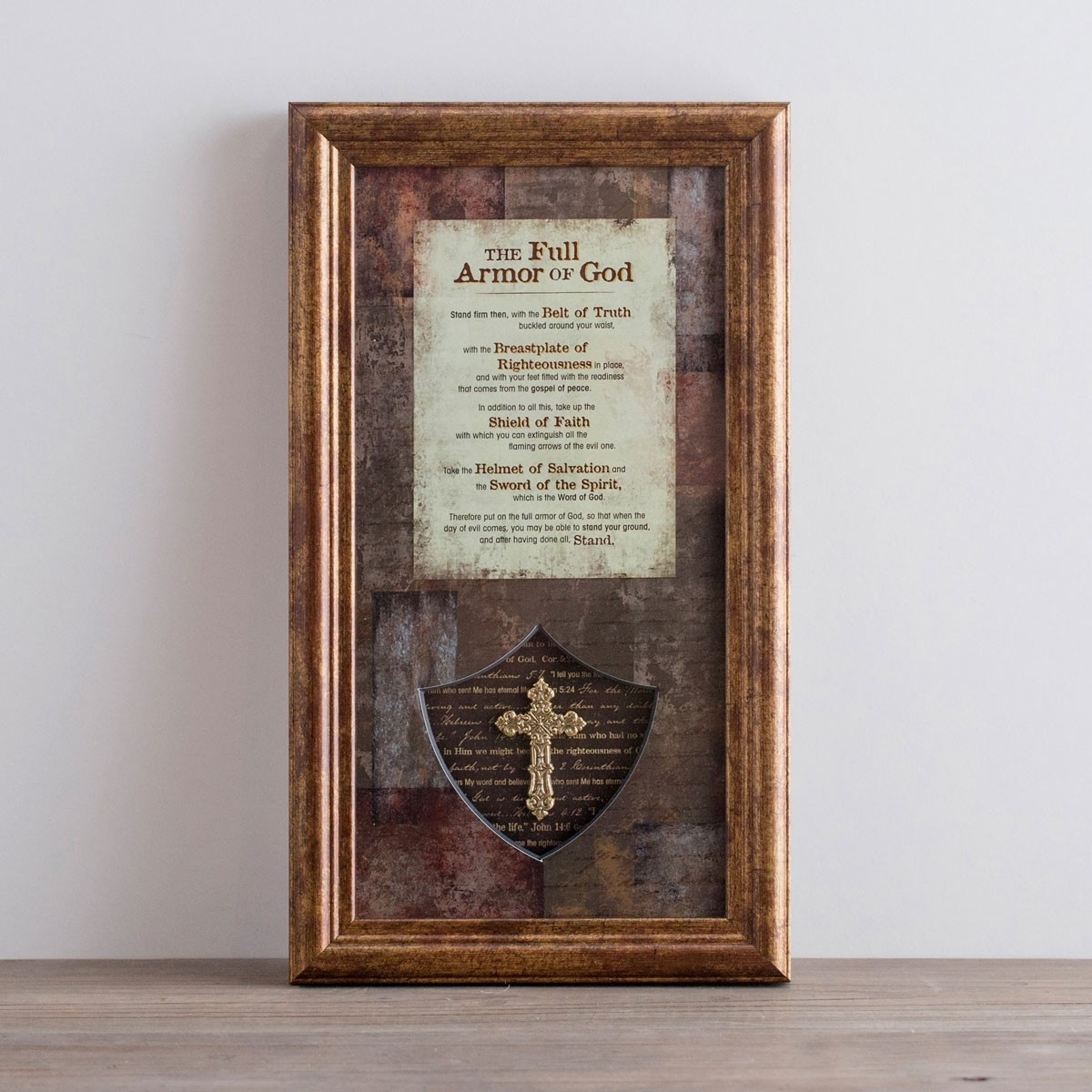 The Full Armor Of God – Framed Wall Art | Dayspring For Most Popular Framed Wall Art (View 10 of 15)