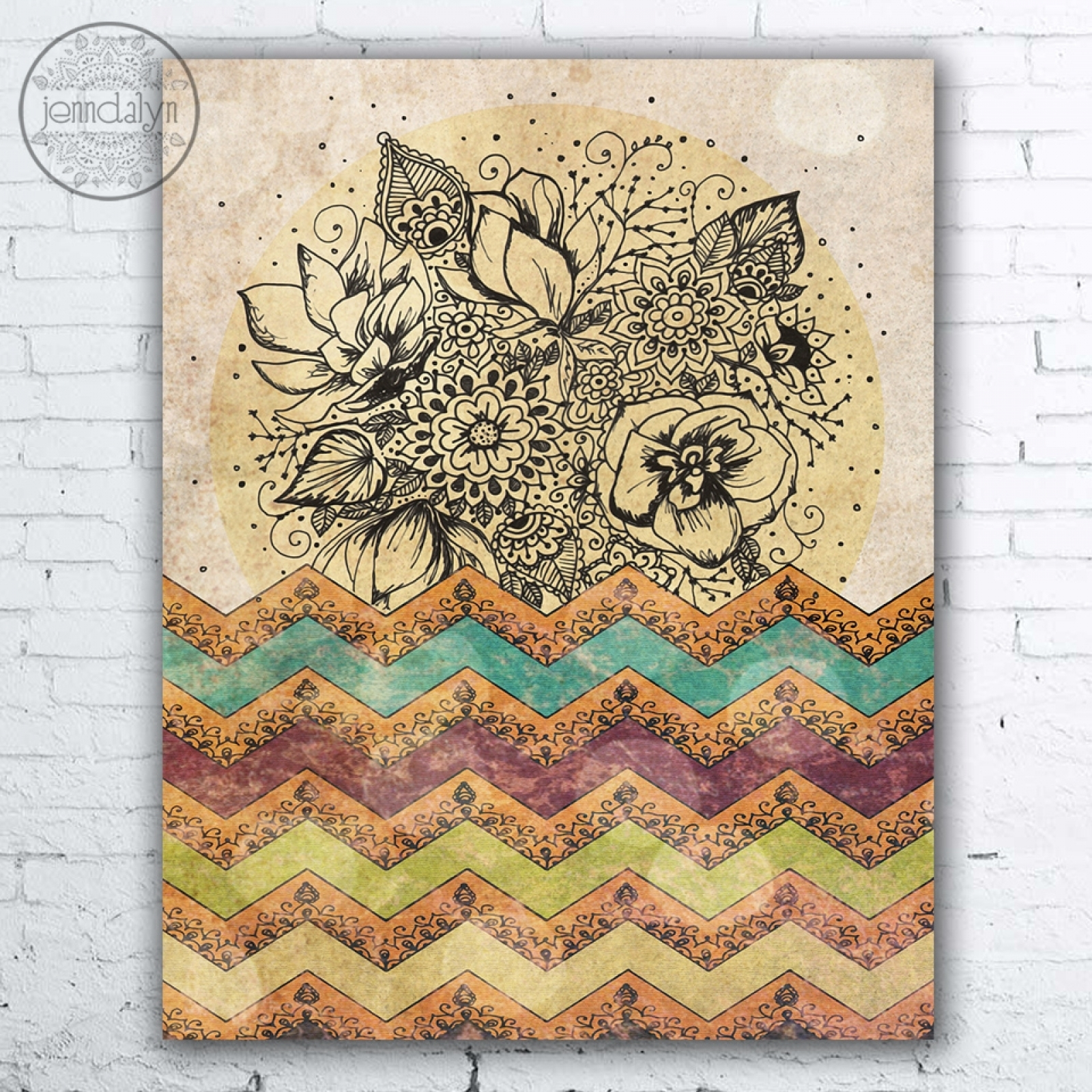 The Incredible Journey | Jenndalyn Intended For Most Up To Date Bohemian Wall Art (View 2 of 20)