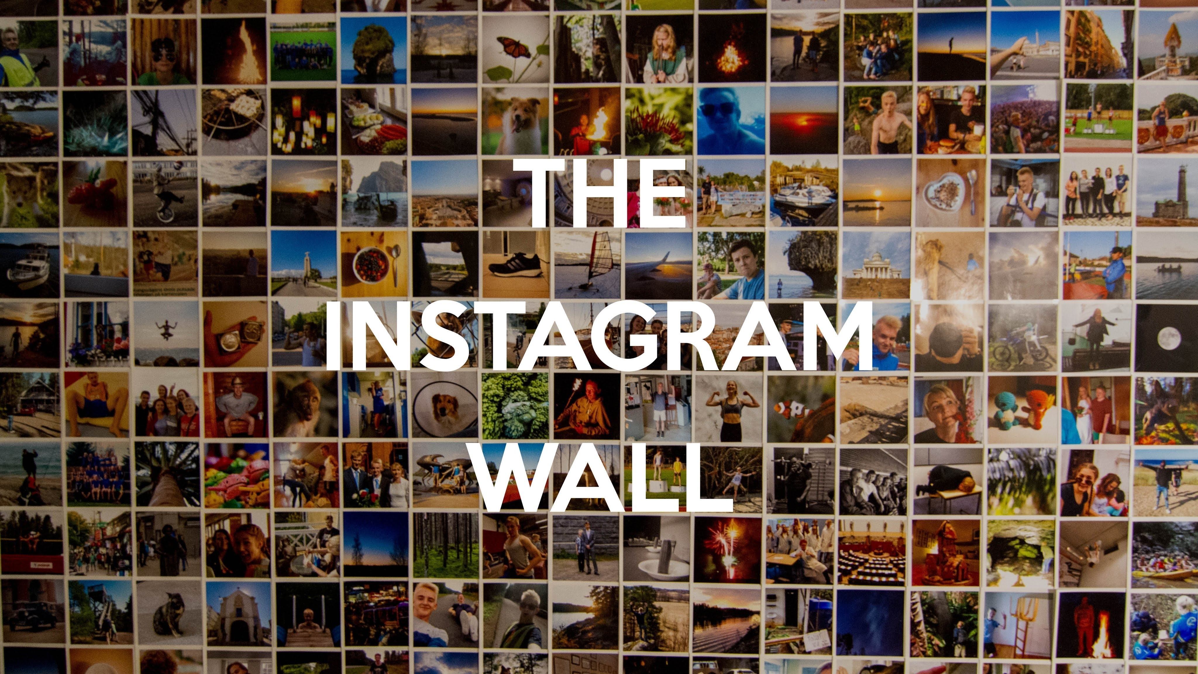 The Instagram Wall – Youtube For Latest Instagram Wall Art (View 18 of 20)