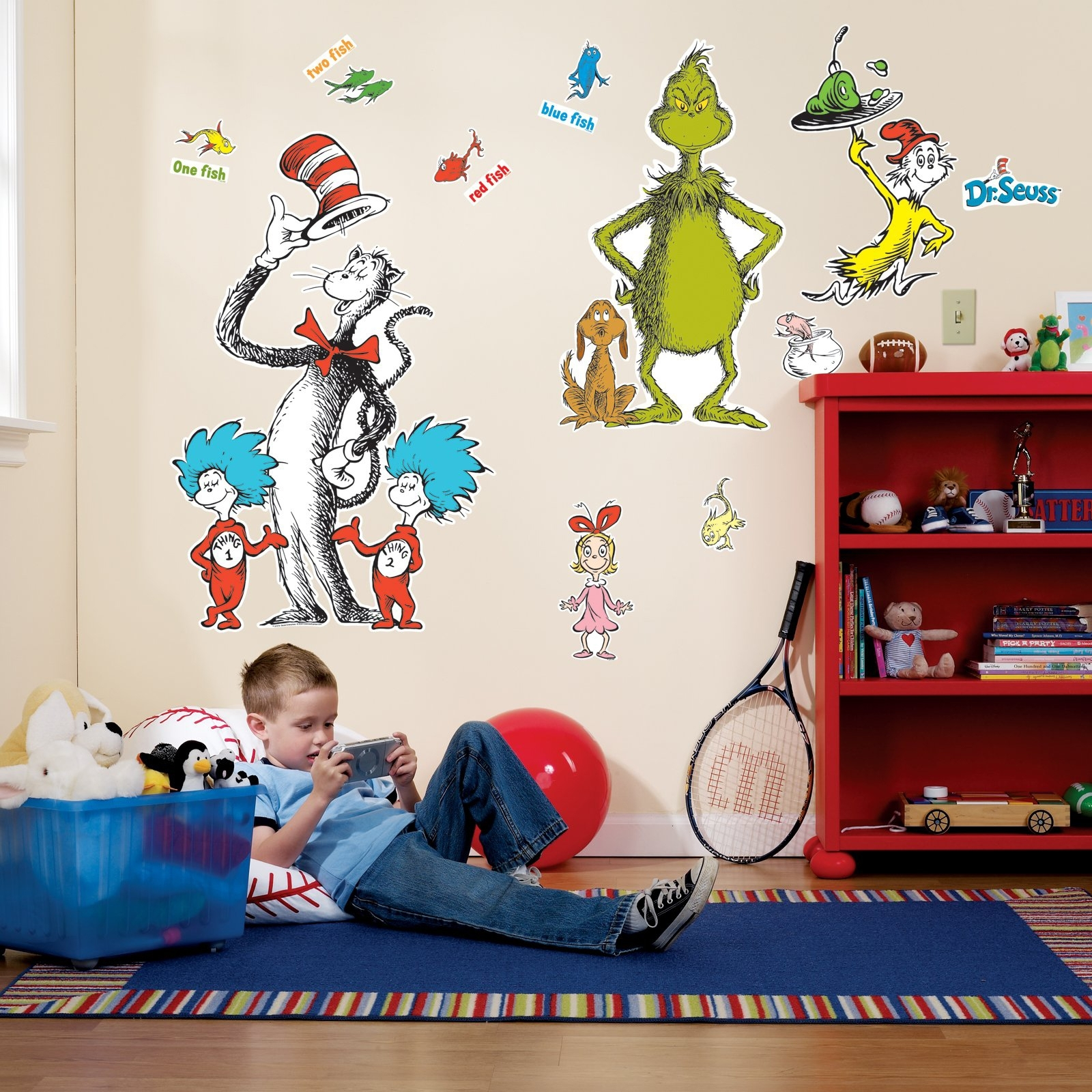 The Official Pbs Kids Shop | Dr. Seuss Giant Wall Decals Regarding Most Recent Dr Seuss Wall Art (Gallery 4 of 20)
