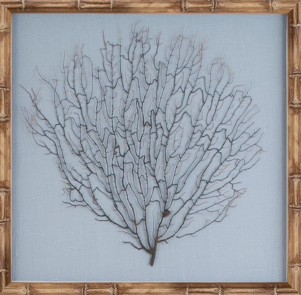 The Well Appointed House – Luxuries For The Home – The Well Inside Most Up To Date Coral Wall Art (View 17 of 20)