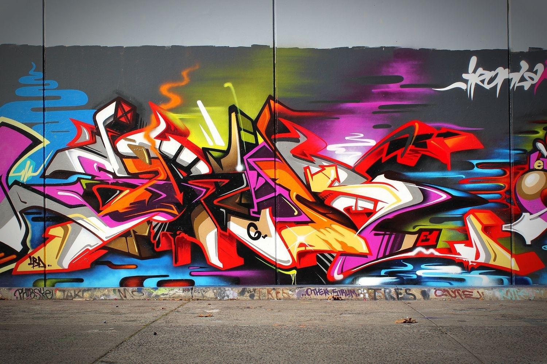Featured Photo of Graffiti Wall Art