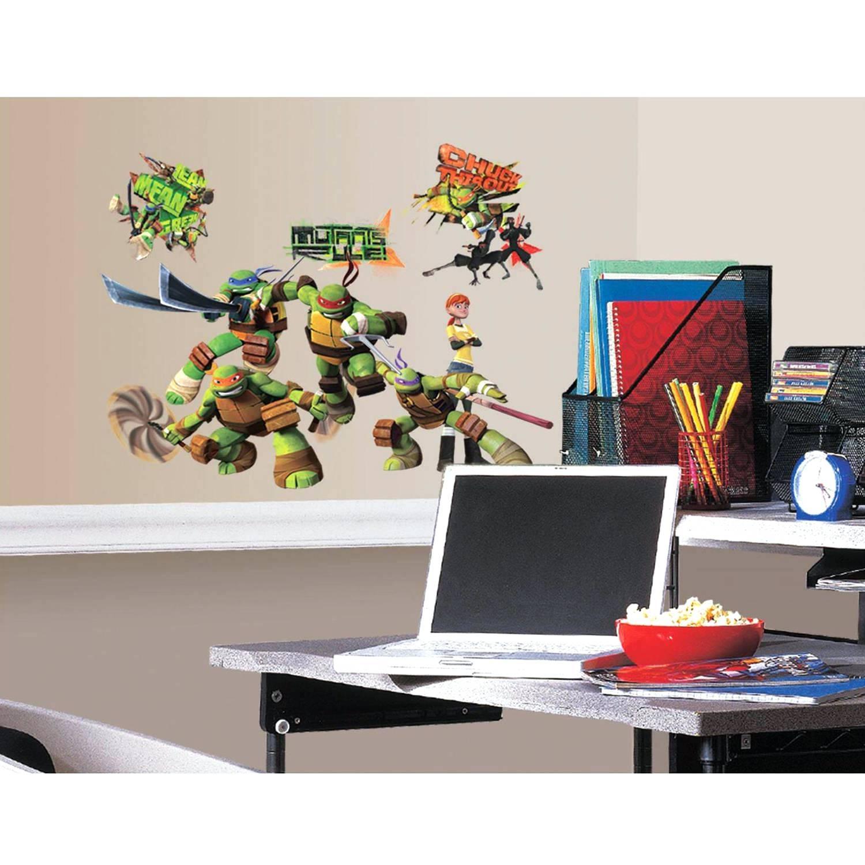 Thomas The Tank Engine Wall Decals Bedroom Emoji Room Ideas Ninja With Recent Ninja Turtle Wall Art (View 15 of 20)