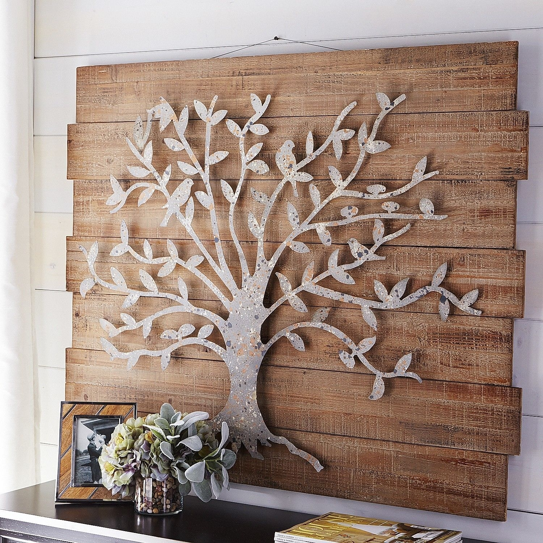 Timeless Tree Wall Decor | Pier 1 Imports … | Metal Work | Pinte… Regarding Newest Wall Art Metal (View 18 of 20)