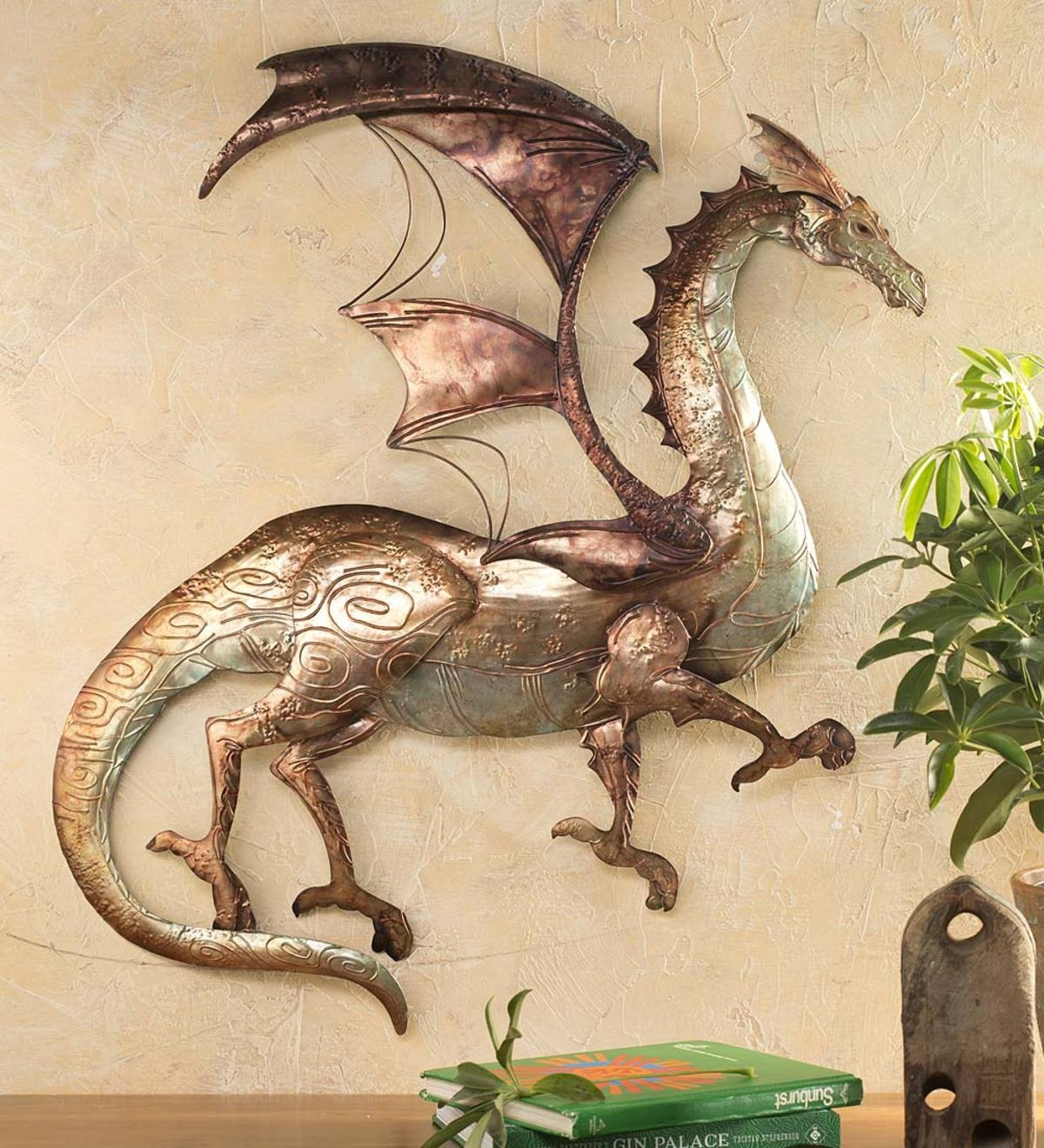 Tin Dragon Wall Art | Wall Art | Home Decor | For The Home | Wind With Regard To Most Up To Date Dragon Wall Art (View 16 of 20)