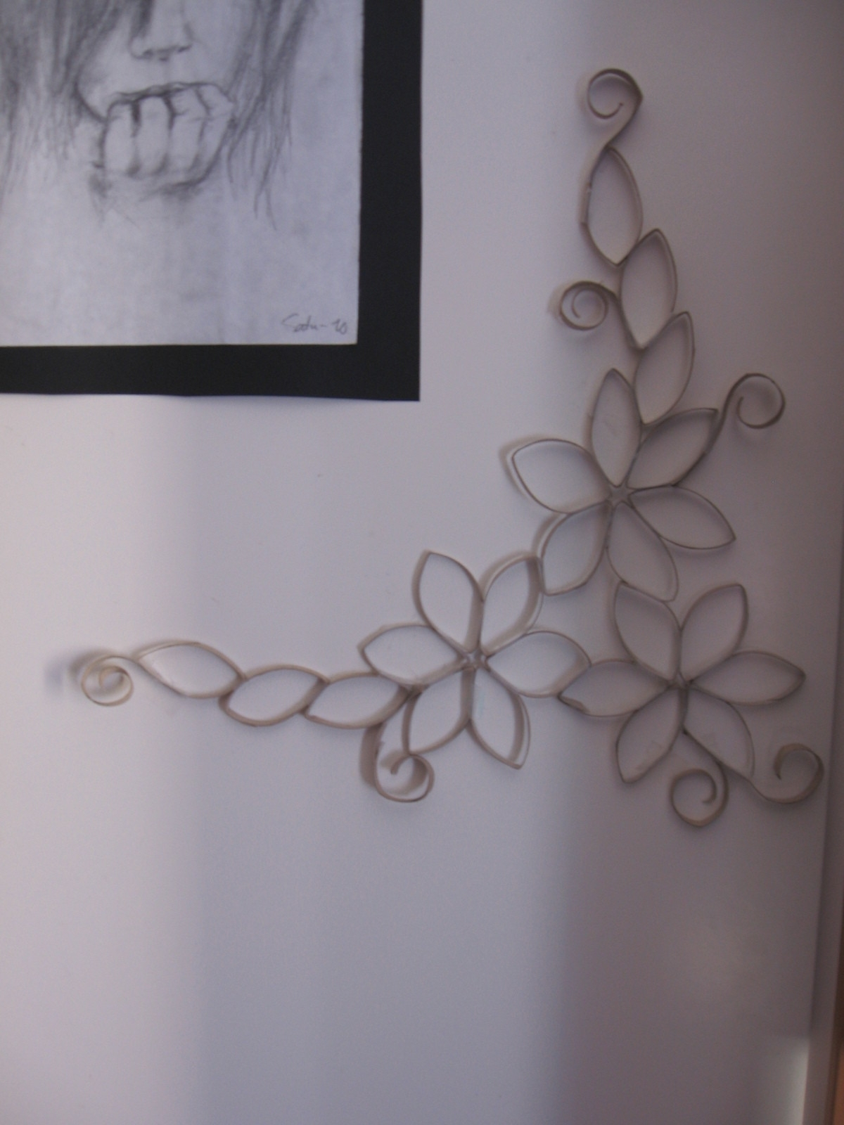 Toilet Paper Roll Wall Art · A Paper Roll Model · No Sew On Cut Out In Latest Toilet Paper Roll Wall Art (View 18 of 20)