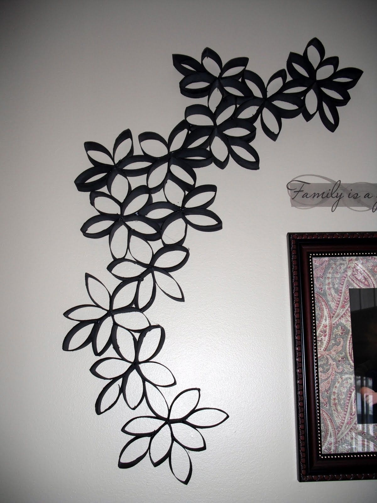 Featured Photo of Toilet Paper Roll Wall Art