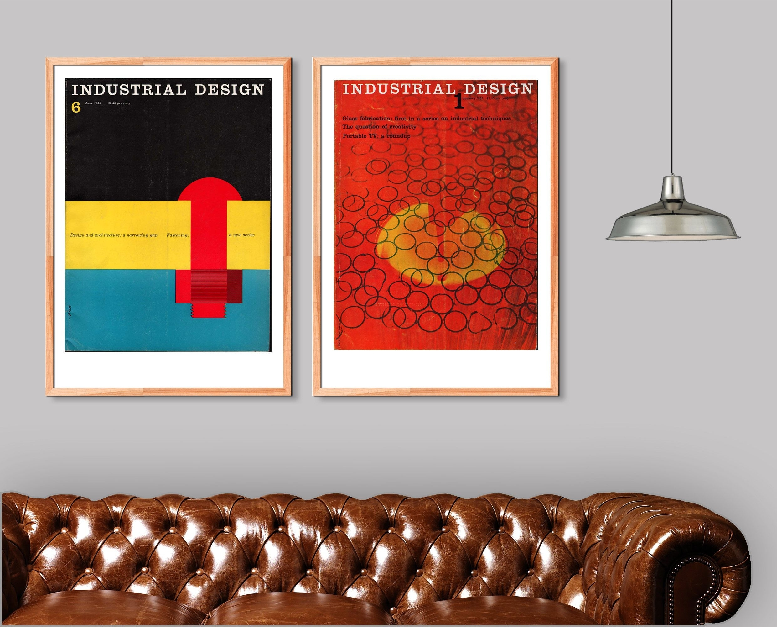 Totally Under Appreciated Diptych: Industrial Design Mid Century With 2018 Mid Century Wall Art (View 16 of 20)