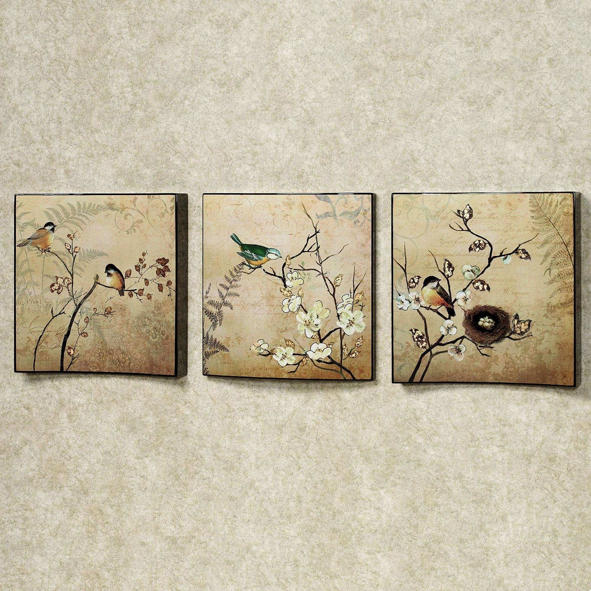 Touch Of Class Wall Art Fresh Natures Kiss Birds Wall Art Set | Wall Within Most Current Touch Of Class Wall Art (View 12 of 20)