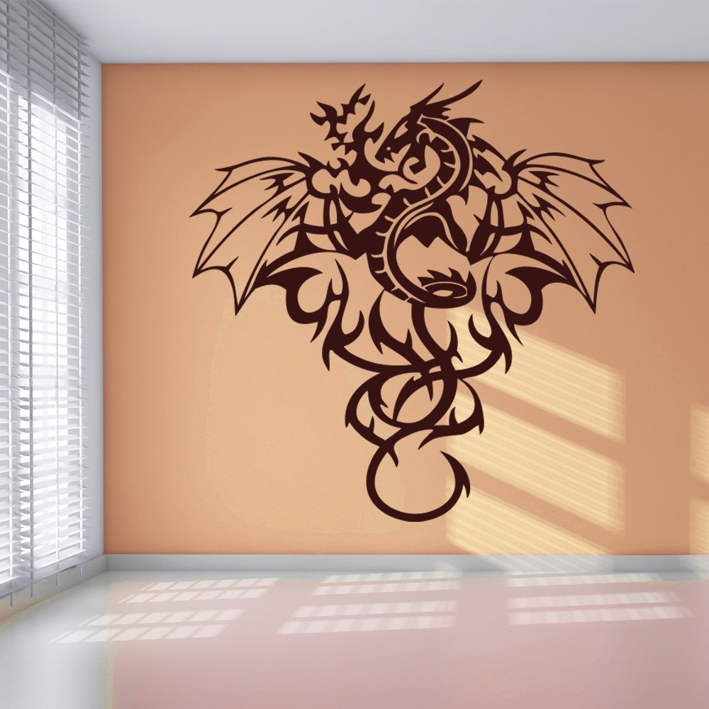 Tr Good Dragon Wall Art – Wall Decoration Ideas With Latest Dragon Wall Art (View 17 of 20)