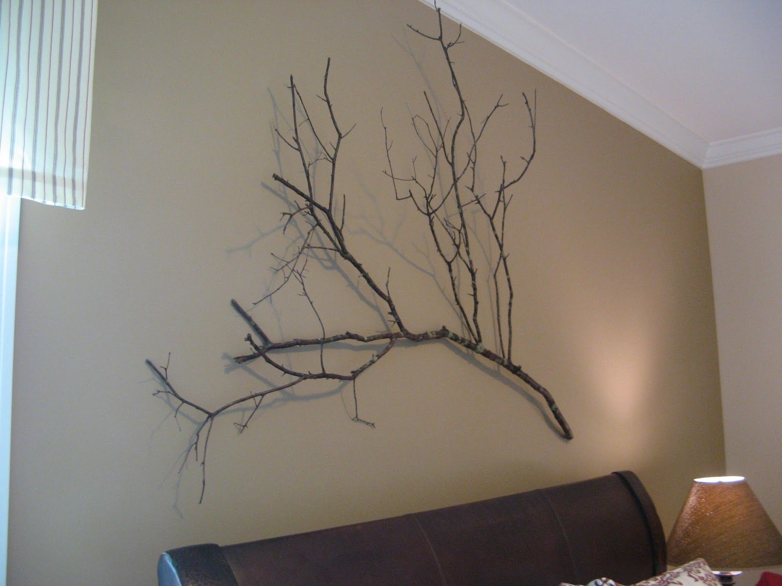 Tree Branch Wall Art, Crate And Barrel Knock Off, Rustic Wall Art Intended For Newest Crate And Barrel Wall Art (View 16 of 20)