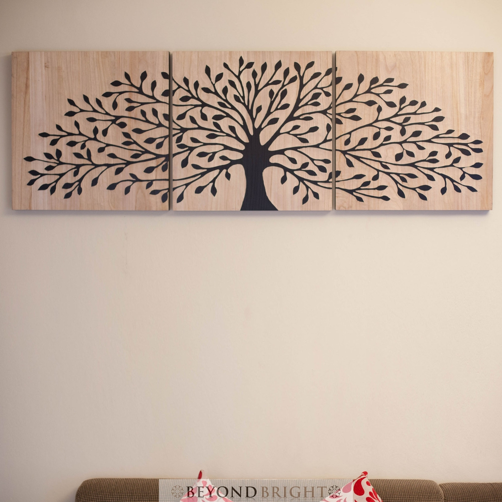 Tree Of Life Wooden Timber Carved Wall Art Blck Mangowood Carving For Latest Tree Of Life Wall Art (View 12 of 15)