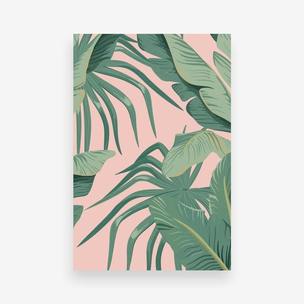 Tropical Plant Wall Image Of Tropical Wall Art – Prix Dalle Beton Intended For Current Tropical Wall Art (View 9 of 20)