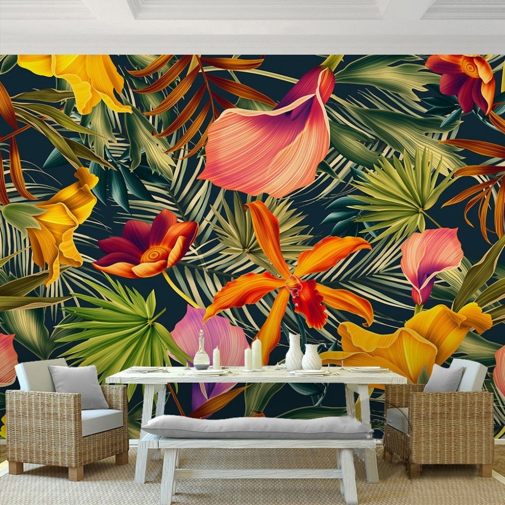 Tropical Wall Art Best Tropical Wall Art – Wall Decoration Ideas Pertaining To Most Current Tropical Wall Art (Gallery 6 of 20)
