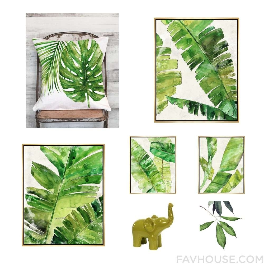 Tropical Wall Art – Culturehoop In Most Popular Tropical Wall Art (View 12 of 20)