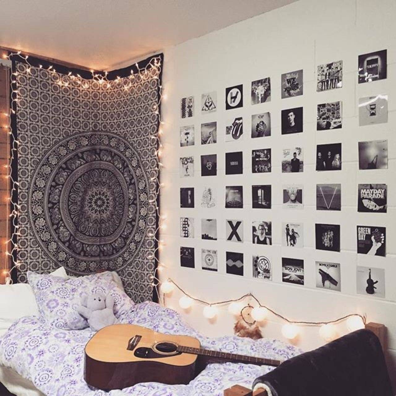 Tumblr Bedroom Decor Awesome 32 Awesome Wall Art Tumblr With Regard To Best And Newest Tumblr Wall Art (Gallery 19 of 20)