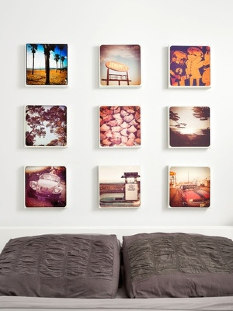 Turn Your Instagram Photos Into Wall Art Wall Art Designs Sets Inside Recent Instagram Wall Art (View 19 of 20)