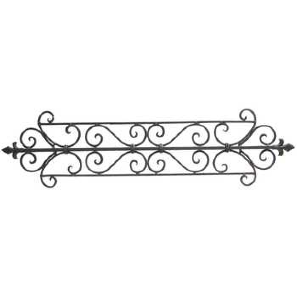 Tuscan Decor Scroll Wrought Iron Metal Wall Metal Wall Decor Art Pertaining To Most Up To Date Metal Scroll Wall Art (View 15 of 20)