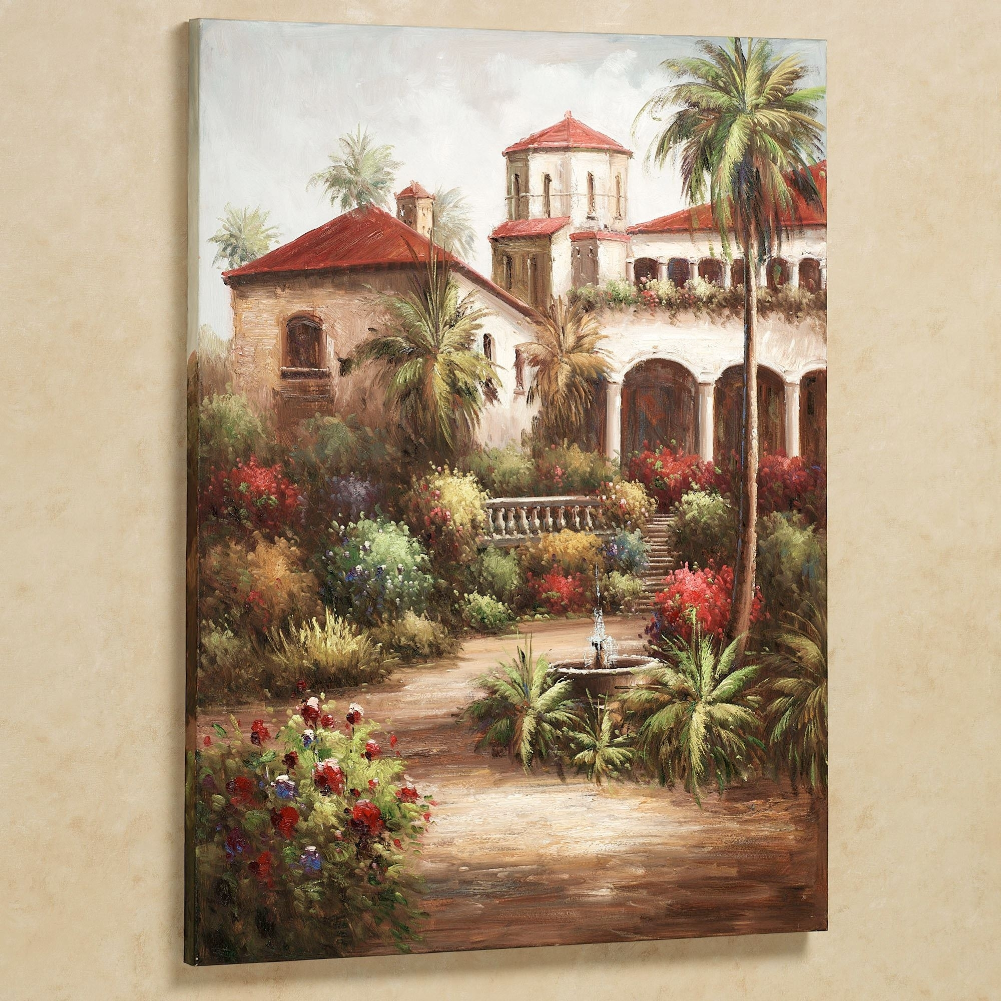 Tuscan Wall Art Garden – Awesome House : Kitchen Tuscan Wall Art Tile Within Best And Newest Tuscan Wall Art (View 3 of 20)