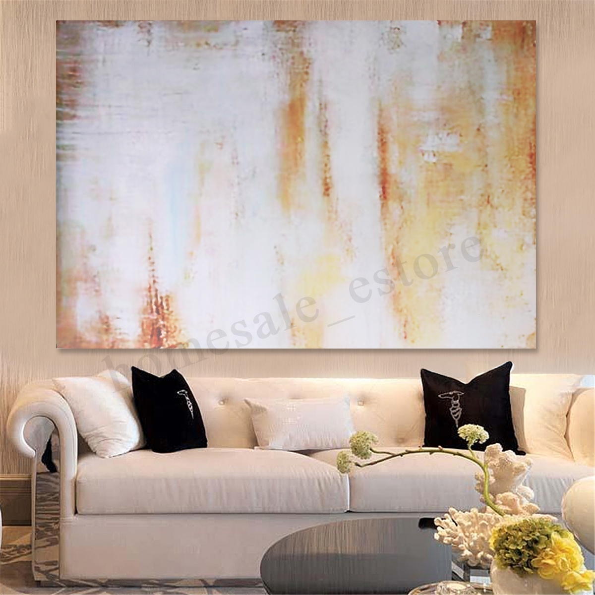 Unframed/framed Modern Canvas Oil Painting Print Picture Wall Art Within Most Recently Released Modern Framed Wall Art Canvas (View 17 of 20)