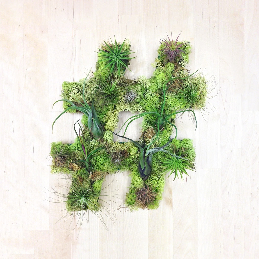 Unique Living Wall Plant Decor From Art We Heart – Design Milk For Most Recently Released Living Wall Art (View 17 of 20)