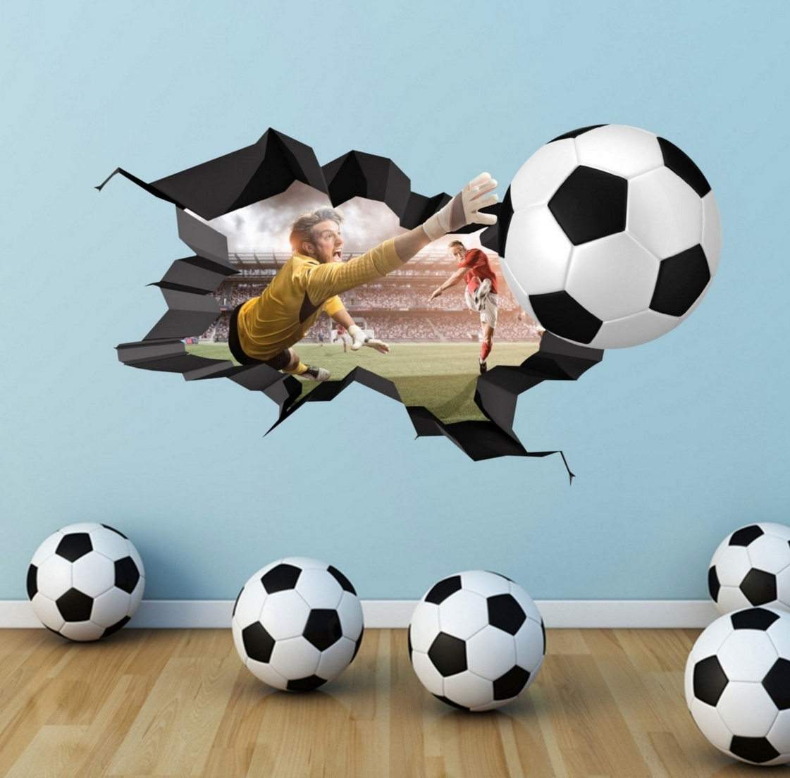 Unique Soccer Ball Wall Decor Gallery | Wall Decoration 2018 intended for 2018 Soccer Wall Art
