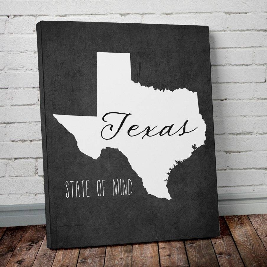 Unique Texas Metal Wall Art Model Wall Art Ideas Dochistafo Design Pertaining To Most Recently Released Texas Wall Art (View 16 of 20)
